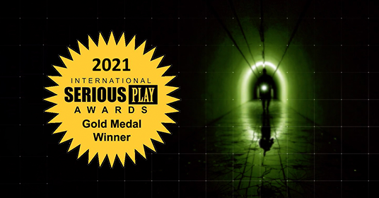 Patient Zero, 2021 Serious Play Awards Gold Medal Winner